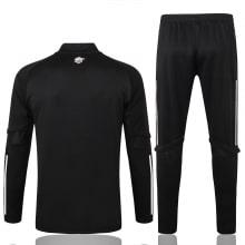 Черный спортивный костюм Арсенал 2021-2022 сзади