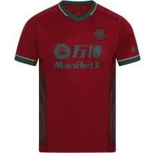 Третья игровая футболка Вулверхэмптона 2020-2021