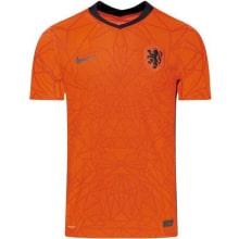 Домашняя аутентичная футболка Голландии на ЕВРО 2020-21