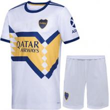 Детская гостевая футбольная форма Бока Хуниорс 2020-2021