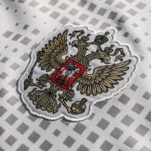 Гостевая футболка сборной России Артем Дзюба спереди герб