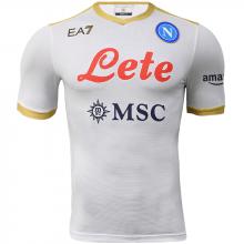 Гостевая игровая футболка Наполи 2021-2022