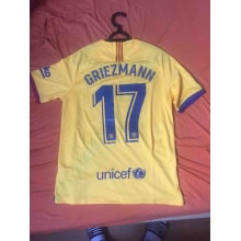 Гостевая футболка Барселоны 2019-2020 Антуан Гризманн сзади