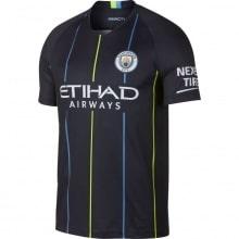 Детская гостевая футболка Манчестер Сити 2018-2019