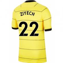 Гостевая игровая футболка Челси Хаким Зиеш 2021-2022