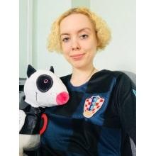 Гостевая игровая футболка сборной Хорватии по футболу на чемпионат мира 2018 года