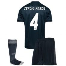 Детская гостевая футбольная форма Серхио Рамос 2018-2019