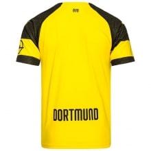 Домашняя игровая футболка Боруссии Дортмунд 2018-2019 сзади
