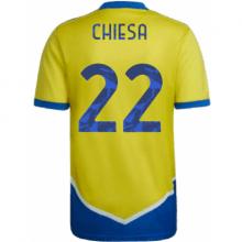 Третья игровая футболка Кьеза 2021-2022