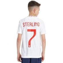 Детская домашняя форма Англии на ЧМ 2018 Рахим Стерлинг