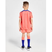Комплект детской третьей формы Челси 2020-2021 футболка шорты и гетры сзади