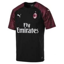 Третья игровая футболка Милана 2018-2019