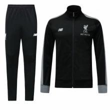 Черный тренировочный костюм Ливерпуля 2018-2019