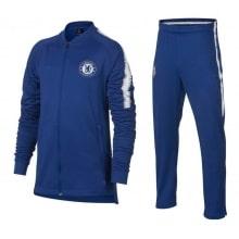 Детский синий тренировочный костюм Челси 2018-2019