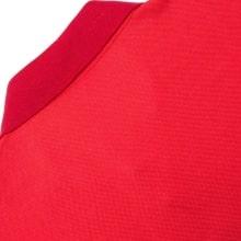 Красная футболка поло Манчестер Юнайтед 2018-2019 сзади