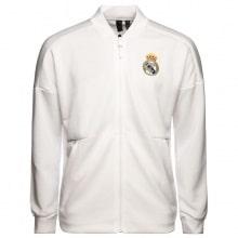 Взрослый черно-белый костюм Реал Мадрид 18-19 кофта