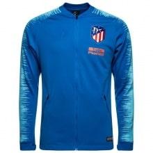 Взрослый синий костюм Атлетико Мадрид 18-19 кофта