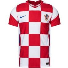 Домашняя аутентичная футболка сборной Хорватии 2020-2021