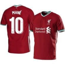 Детская домашняя футбольная форма Садио Мане 2020-2021 футболка