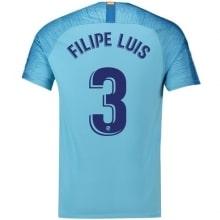 Гостевая футболка Филипе Луис 2018-2019