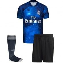 Детская космическая форма EA Реал Мадрид Лука Модрич 2018-2019 спереди