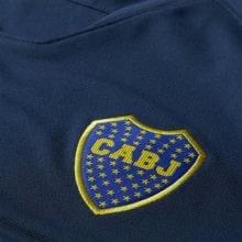 Домашняя игровая футболка Бока Хуниорс 2018-2019 герб клуба