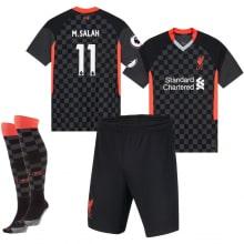 Детская третья футбольная форма Салах 2020-2021