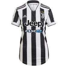 Женская домашняя футболка Ювентуса 2021-2022