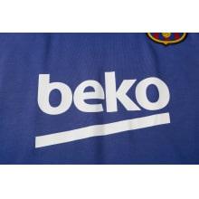 Синяя тренировочная форма Барселоны 2021-2022 титульный спонсор