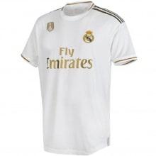 Домашняя футболка Реал Мадрид 2019-2020 Эден Азар номер 23 спереди