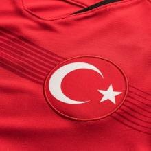 Домашняя футболка сборной Турции 2019-2020 герб сборной