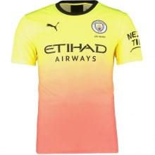 Детская третья форма Манчестер Сити 2019-2020 футболка