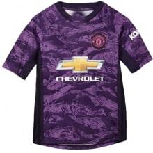 Детская вратарская форма Манчестер Юнайтед 2019-2020 футболка