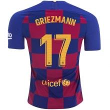 Домашняя футболка Барселоны 2019-2020 Антуан Гризманн
