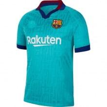 Комплект детской третьей формы Барселоны 2019-2020 футболка