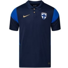 Гостевая футболка сборной Финляндии на ЕВРО 20-21