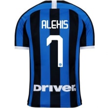 Детская домашняя форма Интера Алексис Санчес 2019-2020 футболка сзади