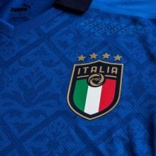 Домашняя футболка сборной Италии Спинаццола на Чемпионат Европы 2020 герб сборной