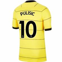 Гостевая игровая футболка Челси 2021-2022 Пулишич
