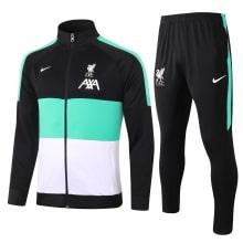 Черно-бело-мятный костюм Ливерпуля 2021-2022
