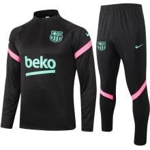Черно-голубой костюм Барселоны 2021-2022