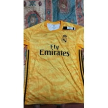 Вратарская Домашняя футболка Реал Мадрид 2019-2020