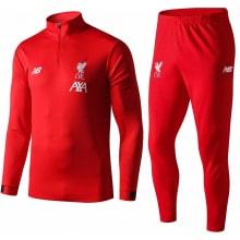 Красный тренировочный костюм Ливерпуля 2019-2020