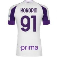 Гостевая футболка Фиорентины 2020-2021 Кокорин