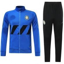Взрослый сине-черный тренировочный костюм Интера 19-20