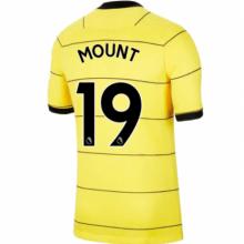 Гостевая игровая футболка Челси 2021-2022 Маунт