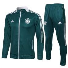 Темно-зеленый костюм сборной Германии по футболу 2021-2022