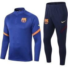 Синий спортивный костюм Барселоны 2021-2022