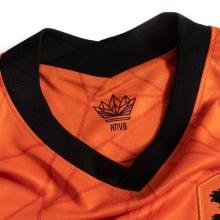Домашняя футбольная форма сборной Голландии ЕВРО 2020 футболка шорты и гетры воротник