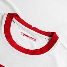 Женская домашняя футболка сборной Германии на ЕВРО 2020 бренд